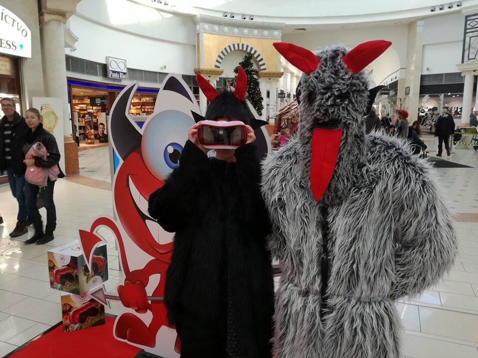 Mikuláš v Shopping Palace