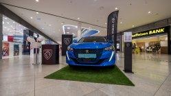 Salón elektromobilov vBory Mall