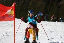 Test lyží a Karneval 2019