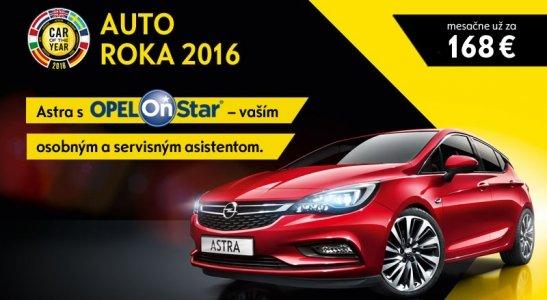 Opel Astra so systémom Opel OnStar