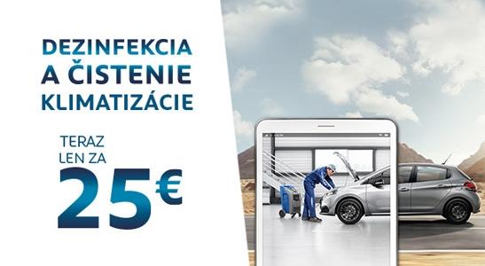 Dezinfekcia a čistenie klimatizácie teraz len za 25 EUR