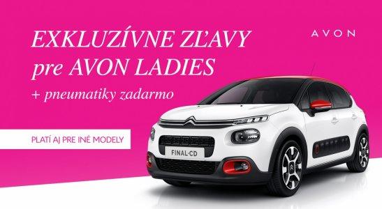 Exkluzívne zľavy pre AVON ladies