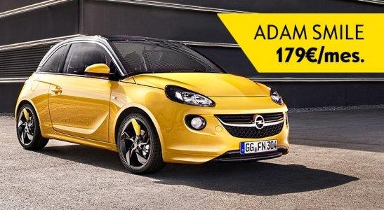 Opel Adam len za 179 EUR mesačne!