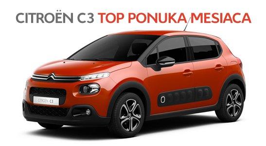 Top ponuka mesiaca Citroën