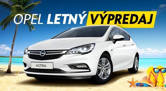 Letný výpredaj Opel