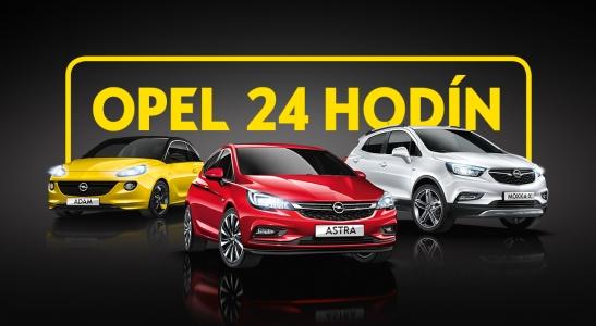 Akcia Opel 24 hodín