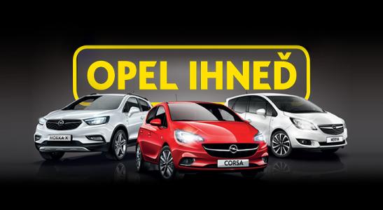 Opel ihneď