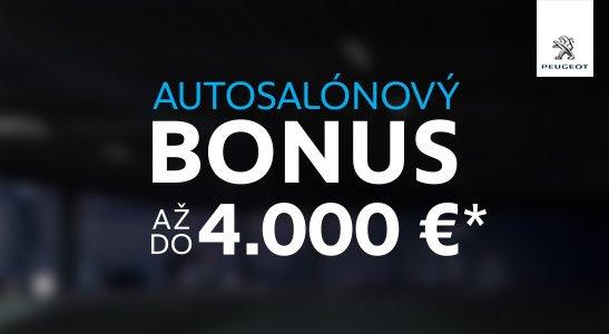 Autosalónový bonus s doživotným servisom zadarmo