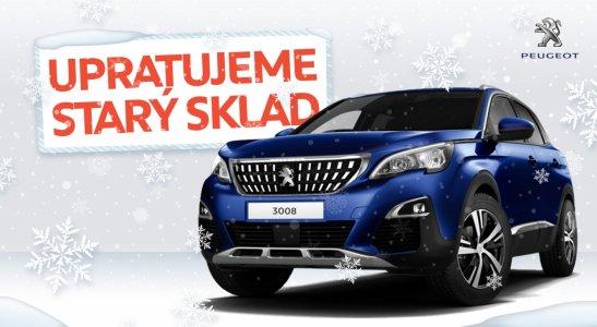 Objav novoročnú ponuku Peugeot
