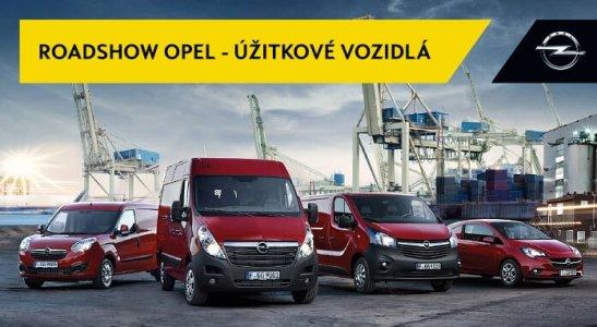 Roadshow Opel - úžitkové vozidlá