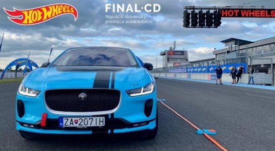 Hot Wheels & Jaguar I-PACE   Upútavka