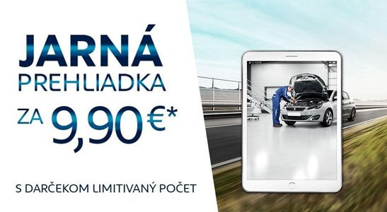 Jarná prehliadka za 9,90 EUR