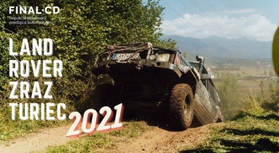 LAND ROVER ZRAZ TURIEC 2021