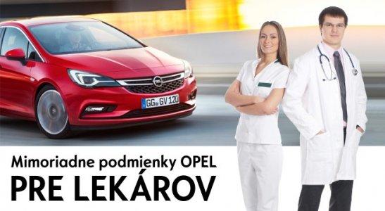 Mimoriadne podmienky Opel pre lekárov