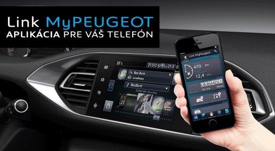 Aplikácia Link MyPEUGEOT pre váš telefón