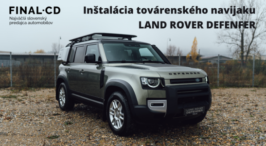 Navijak LAND ROVER DEFENDER