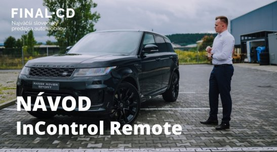 Návod na InControl Remote | Zo života predajcu II.