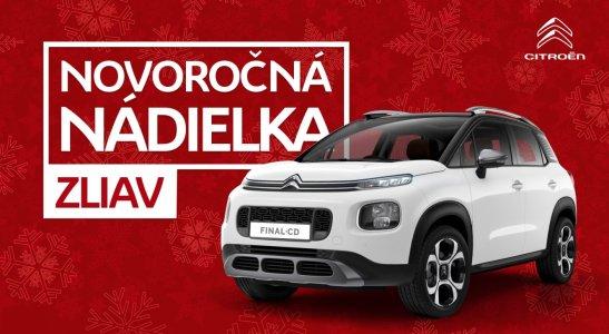Novoročná nádielka zliav Citroën