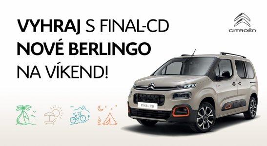 Nový Citroen Berlingo na víkend s plnou nádržou!