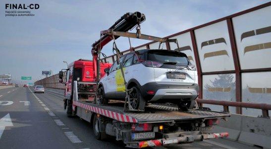Nový Opel Crossland - presun na vystavovanie