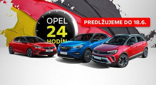 Opel 24 HODÍN 11. – 12. JÚN 2021