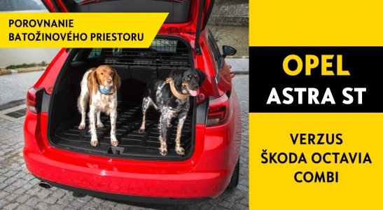 OPEL Astra ST verzus ŠKODA OCtavia Combi