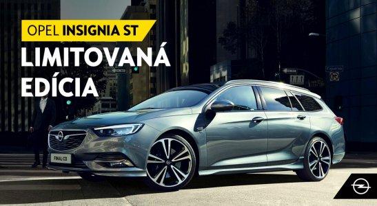 Posledné 2 kusy limitovanej edície Opel Insignia
