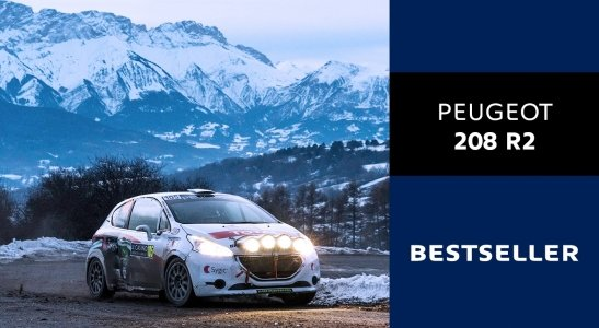 PEUGEOT 208 R2 je bestseller!