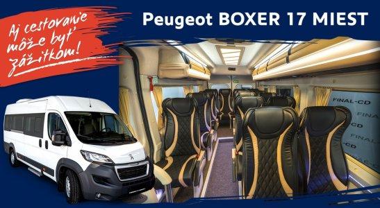 Peugeot BOXER 17 MIEST