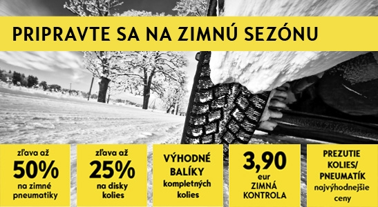 Zimné pneumatiky pre váš OPEL so zľavou až 50%