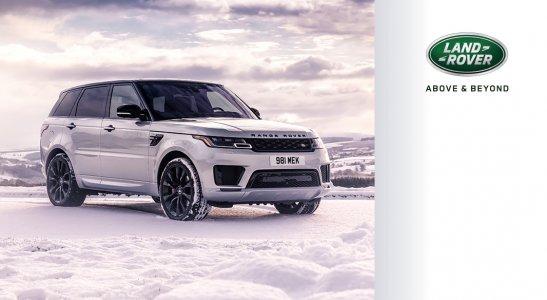Ponuka zimných diskov a pneumatík Land Rover