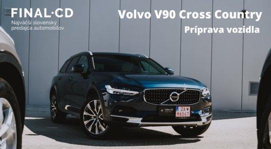 Príprava vozidla Volvo V90