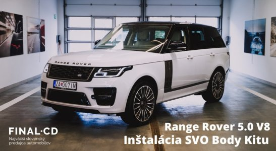 RANGE ROVER SVO Body Kit