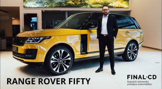 RANGE ROVER FIFTY | Jaguar Land Rover Zilina