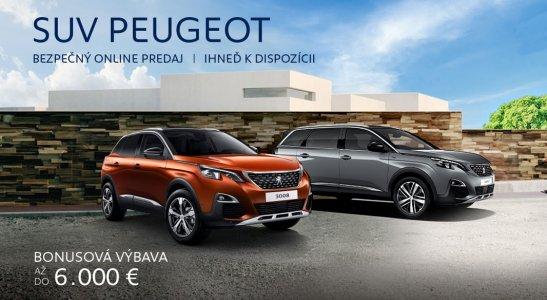 SUV Peugeot oceňujú odborníci a milujú vodiči!
