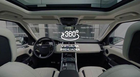 Virtuálna prehliadka vozidiel len vo FINAL-CD