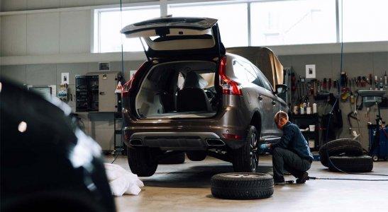 Zvolávacie akcie pre vozidlá Volvo