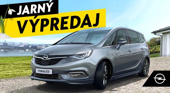 Jarný výpredaj Opel