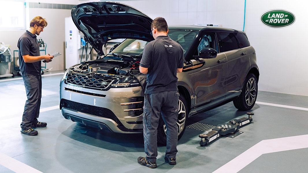 Jarný servis pre Váš Land Rover