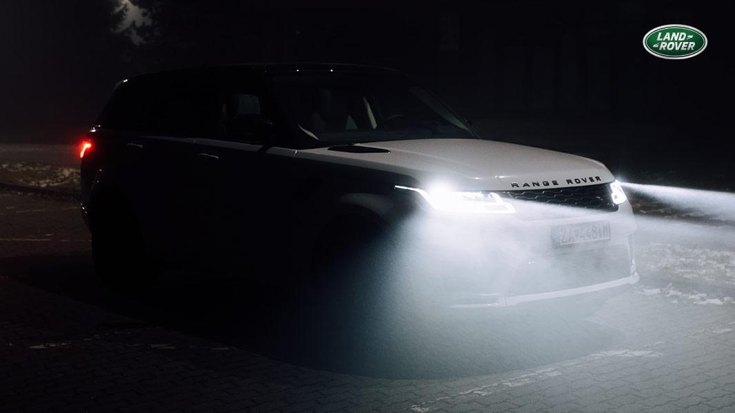 LED technológia Range Rover SPORT