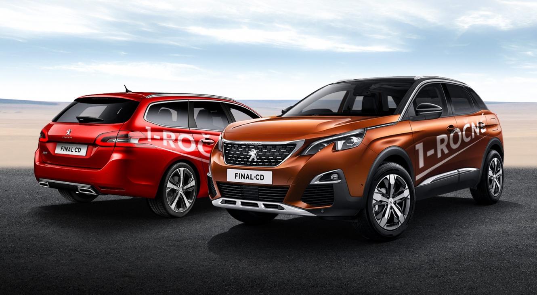 Nezmeškajte skvelé ceny 1-ročných jazdených vozidiel Peugeot