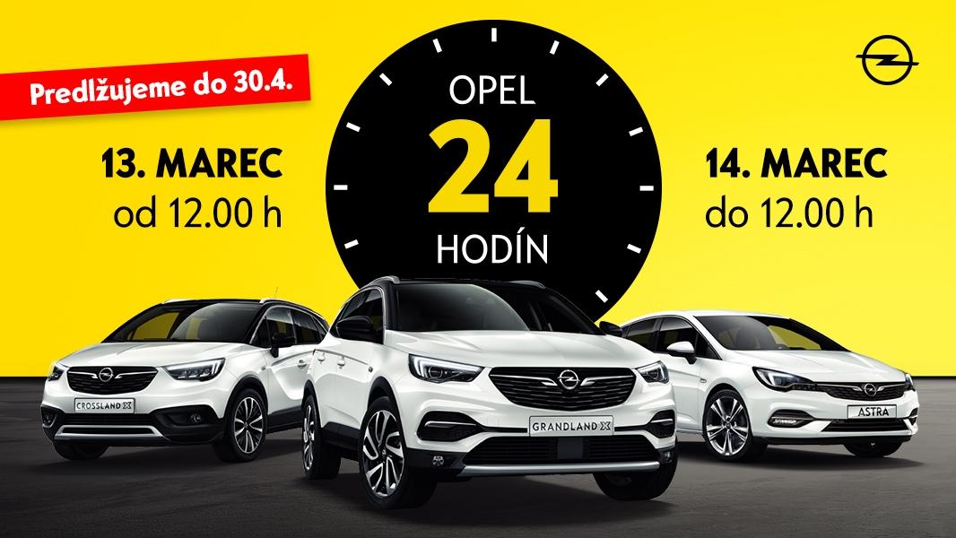 Opel 24 hodín