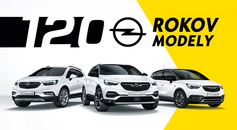 Oslávte s nami 120 rokov Opel