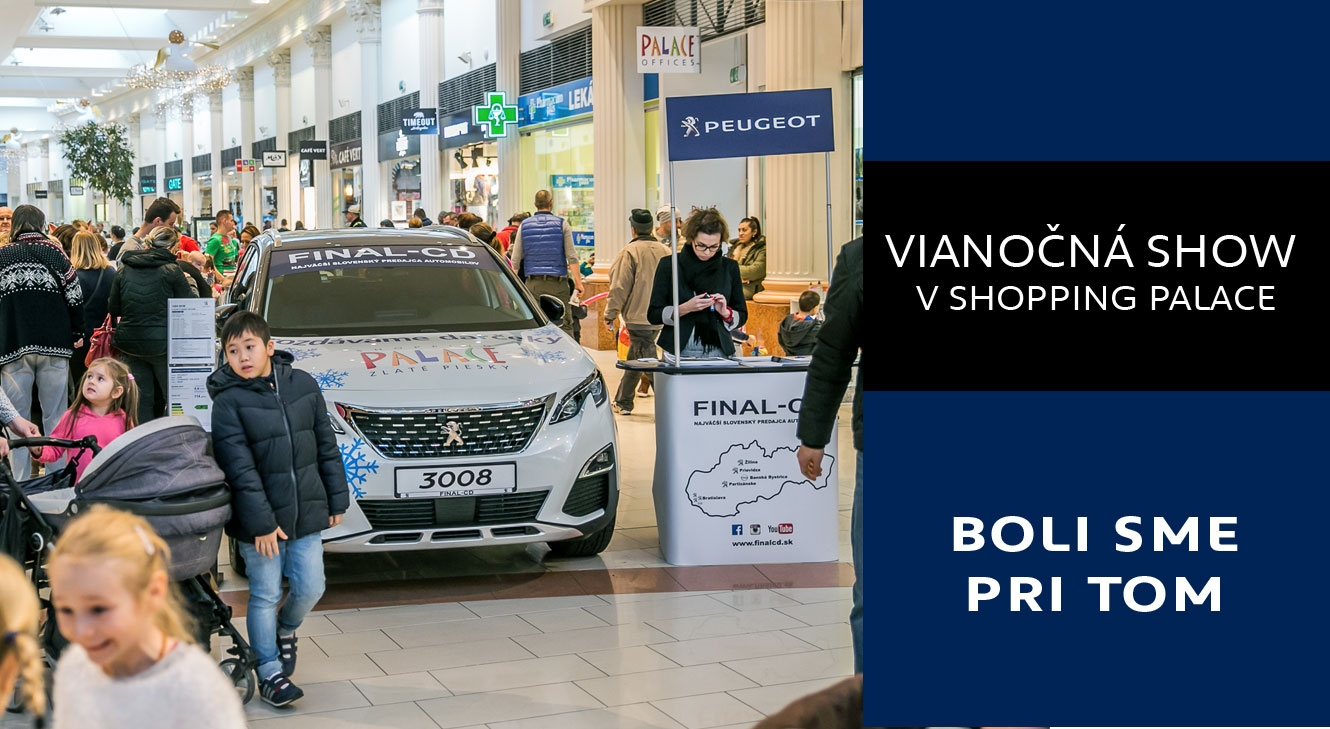 VIanoce v Shopping Palace