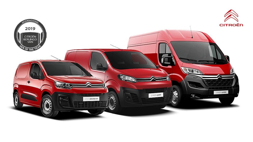 Úžitkové vozidlá Citroën ihneď k odberu