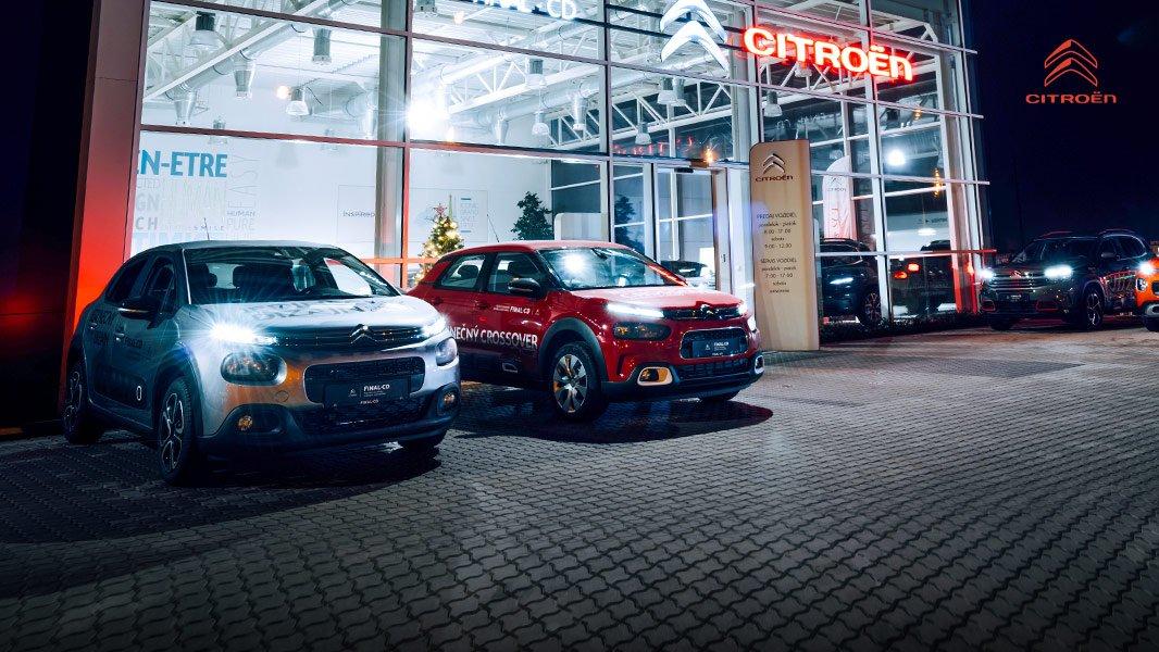 Doživotný servis zadarmo na všetky skladové vozidlá Citroën!