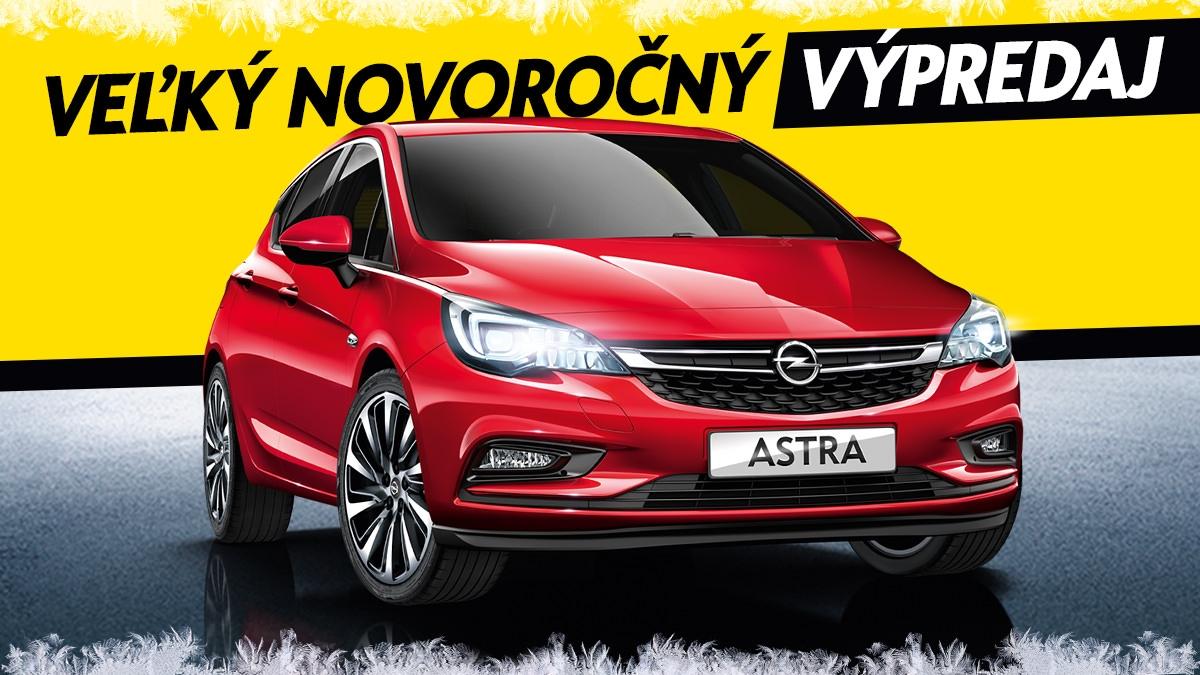 Veľký novoročný výpredaj Opel