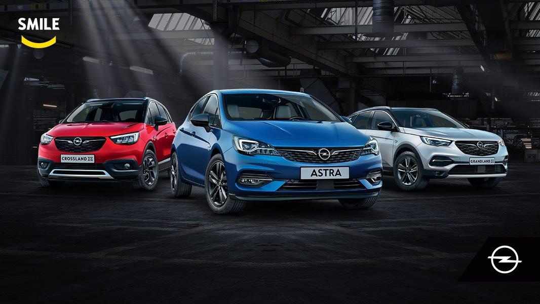 Limitovaná edícia Opel SMILE