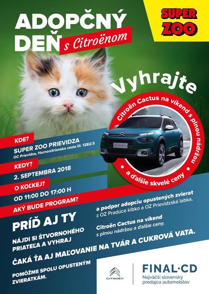 Adopčný den s Citroënom