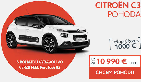 Citroën C3 POHODA